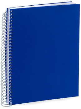 Blue Spiral Medium Journal