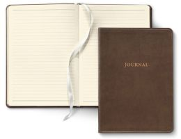 Tan Leather Bonded Journal 6X8