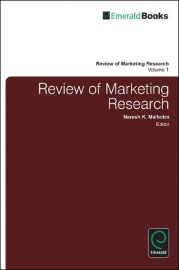 Review of Marketing Research, Volume 1