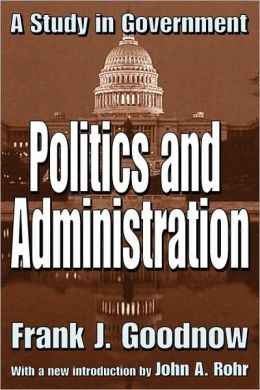 Politics And Administration