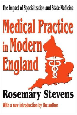 Medical Practice In Modern England