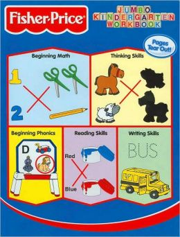 Fisher-Price Jumbo Kindergarten Workbook