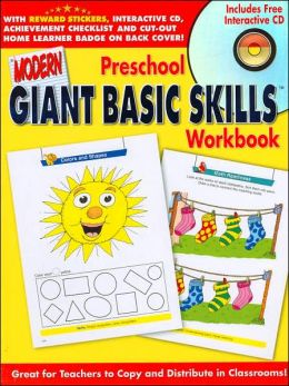 Modern Giant Basic Skills Preschool Workbook