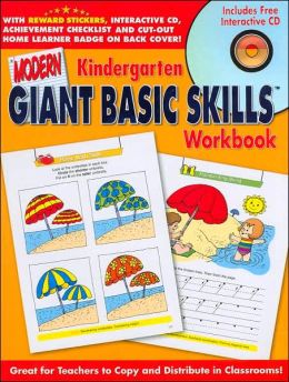 Modern Giant Basic Skills Kindergarden Workbook