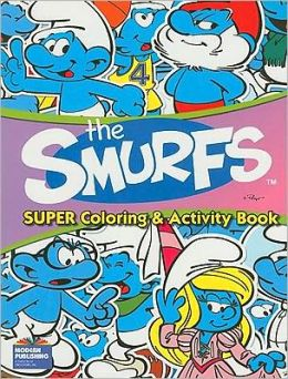 The Smurfs Super Coloring and Activity Bk