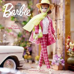 2004 Vintage Barbie Wall Calendar