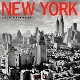 2008 New York Wall Calendar