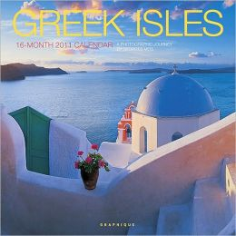 2011 Greek Isles Georges Meis Wall Calendar