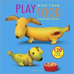 2011 Fast Food Play with Your Food Wall Calendar