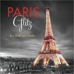 2011 Paris Glitz Wall Calendar