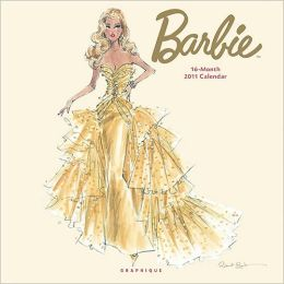 2011 Barbie Wall Calendar