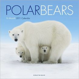 2011 Polar Bears Wall Calendar