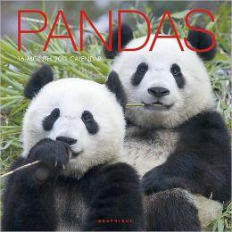 2011 Pandas Wall Calendar