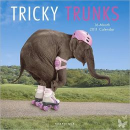 2011 Tricky Trunks Wall Calendar