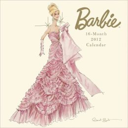 2012 Barbie Mini Wall Calendar
