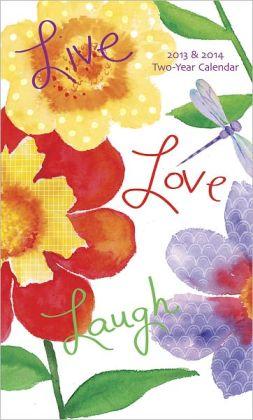 2013 Live Love Laugh 2 Year Pocket Planner