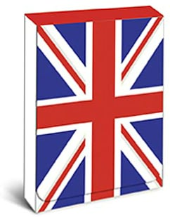 British Flag Mini Note Pad