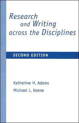 Research and Writing across the Disciplines