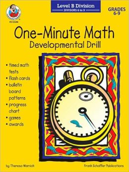 One-Minute Math: Development Drill