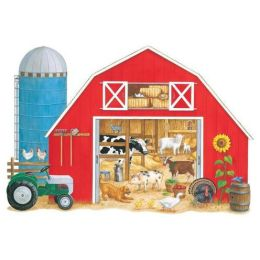 Whats in the Big Red Barn: Floor Puzzle