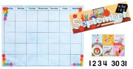 All Year Calendar Bulletin Board Set