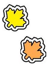 Fall Leaves/Shapes-Chart Seals