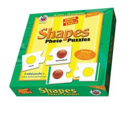 Think, Match and Learn Shapes Photo Puzzles
