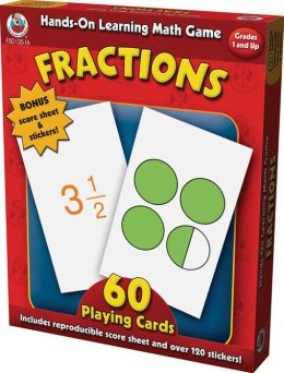 Hands-on Learning Fractions Card Game