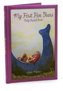 My First 5 Years Daydreams Baby Record Book