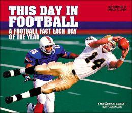 2005 Football Box Calendar