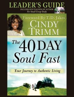 The 40 Day Soul Fast Leader's Guide Set: Includes DVD Teaching by author for small groups