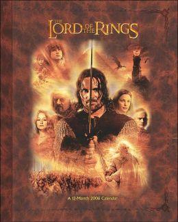 2006 Lord of the Rings Fun Shape Wall Calendar