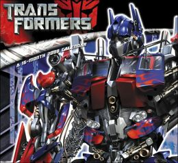 2008 Transformers the Movie Wall Calendar