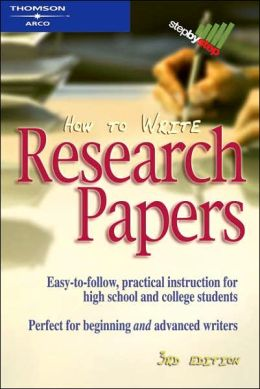Peterson's How to Write Research Papers