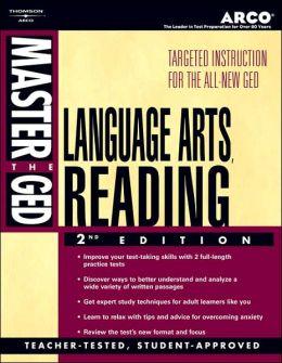 Master the GED- Language Arts, Reading