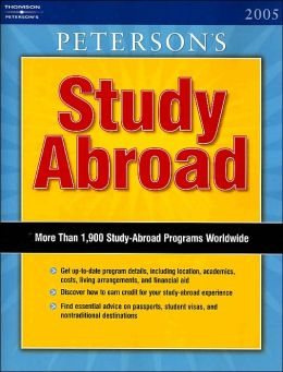 Peterson's Study Abroad 2005