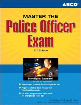 Arco Master the Police Officer Exam