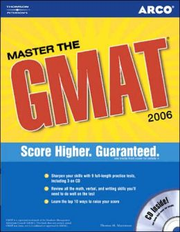 Master the GMAT 2006 with CD-ROM