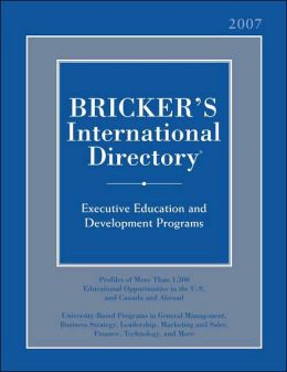 Bricker's International Directory 2007