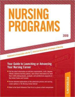 Nursing Programs - 2010: Advance Your Nursing Career