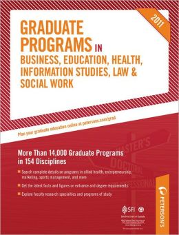 Graduate Programs in Business, Education, Health, Information Studies, Law & Social Work