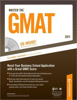 Master the GMAT 2011 (w/ CD)