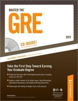 Master The GRE - 2011: CD-ROM INSIDE