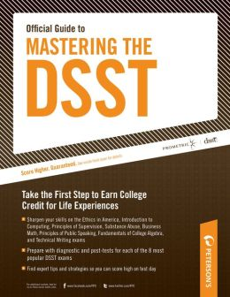 Peterson's Official Guide to Mastering the DSST