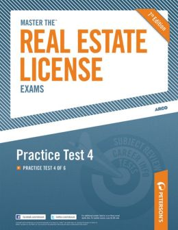 Master the Real Estate License Exam: Practice Test 4: Practice Test 4 of 6