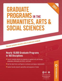 Graduate Programs in the Humanities, Arts & Social Sciences 2011 (Grad 2)