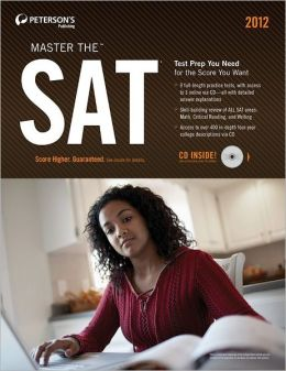 Master the SAT 2012 (w/CD)
