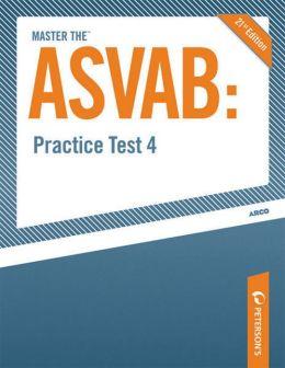 Master the ASVAB--Practice Test 4