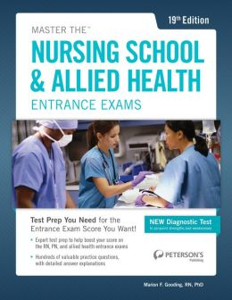 Master the Nursing School & Allied Health Exams