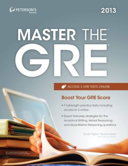 Master the GRE: Practice Test 4: Practice Test 4 of 4